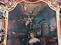 Hofkirchen Pfarrkirche - Barbara-Altar Altarbild 2.jpg
