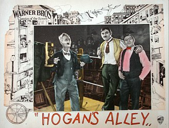 Hogan's Alley (film) - Hogan's Alley lobby card