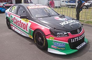 2016 Supercars Dunlop Series - Alex Rullo placed 17th for Lucas Dumbrell Motorsport in a Holden VF Commodore.