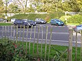 Hole in the fence, Omagh - geograph.org.uk - 271894.jpg