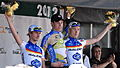 Holohan, Laengen and Hampton on podium 2012-06-16.jpg