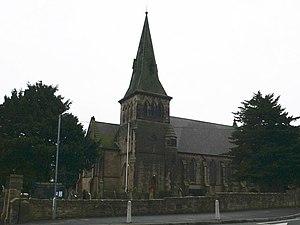 Gwersyllt - Image: Holy Trinity Church, Gwersyllt geograph.org.uk 623427