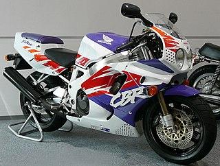 Honda CBR900RR motorcycle