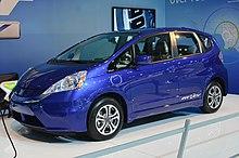 Honda fit wikipedia for Honda fit electric