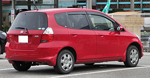 Honda Fit - JDM-spec Honda Fit.