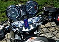 Honda Hornet 900 2 triple tree.JPG