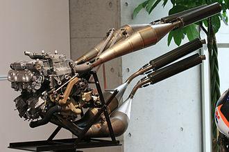 Honda NSR500 - 1997 Honda NSR500 engine: Liquid-cooled 499 cc V4. 6-speed transmission. 185 PS / 12,000 rpm