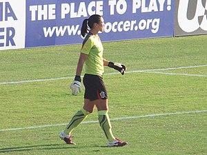 Hope Solo - Solo playing for the Beat in 2010
