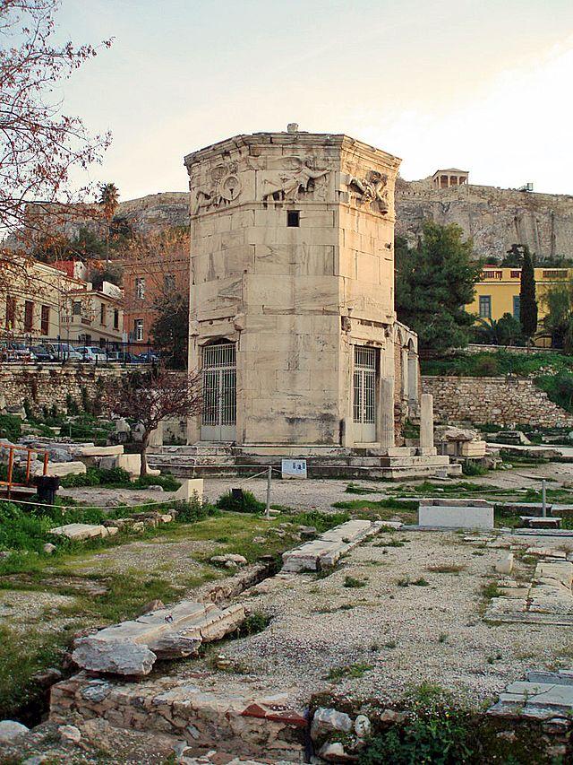 Το μνημείο αυτό θεωρείται ο αρχαιότερος μετεωρολογικός - ωρομετρικός σταθμός  του κόσμου 81a7abdb1f9