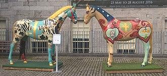 Hunt Museum - 'Horse Outside' art installation