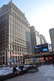 Hotel Pennsylvania and Madison Square Garden entrance.jpg