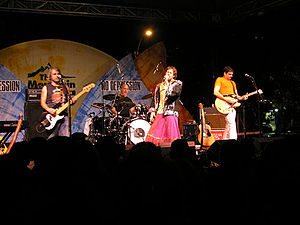 Hothouse Flowers - Hothouse Flowers playing at Bumbershoot 2005