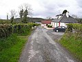 House and lane at Keenheen - geograph.org.uk - 1309475.jpg