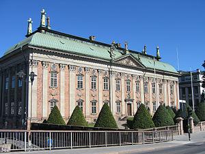 Simon de la Vallée - Simon de la Vallée: Riddarhuset or the House of Nobility, Stockholm