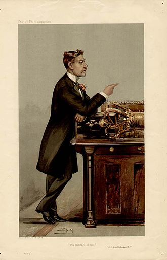 H. O. Arnold-Forster - Arnold-Foster caricatured by Spy for Vanity Fair, 1905
