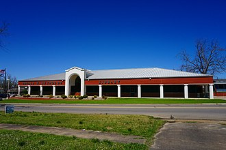 National Register of Historic Places listings in Choctaw County, Oklahoma - Image: Hugo March 2016 43 (Donald W. Reynolds Library)