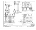 Hun House, 149 Washington Avenue, Albany, Albany County, NY HABS NY,1-ALB,5- (sheet 3 of 10).png