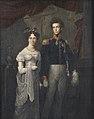 Huwelijkportret van Willem Frederik Karel, prins der Nederlanden (1797-1881) en Louise, prinses van Pruisen, prinses der Nederlanden (1808-1870).jpg