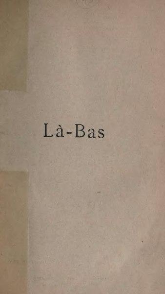 File:Huysmans - Là-Bas, Tresse & Stock, 1895.djvu