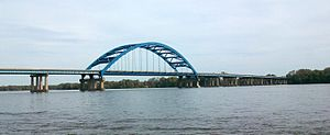Sergeant John F. Baker Jr. Bridge - I-280 Bridge from Davenport