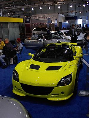 Steinmetz Opel Tuning - Image: IAA 2001 144 Flickr Axel Schwenke