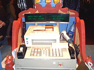 4690 Operating System - This IBM 4683 register uses a controller with a 4690 operating system.