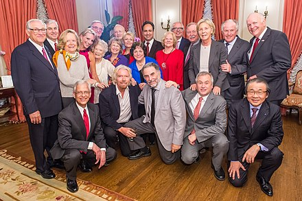 Dennis DeConcini (top row, far right) with the Board of Directors of the International Centre for Missing & Exploited Children. ICMEC Board.jpg