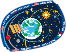 Description de l'image ISS Expedition 52 Patch.png.