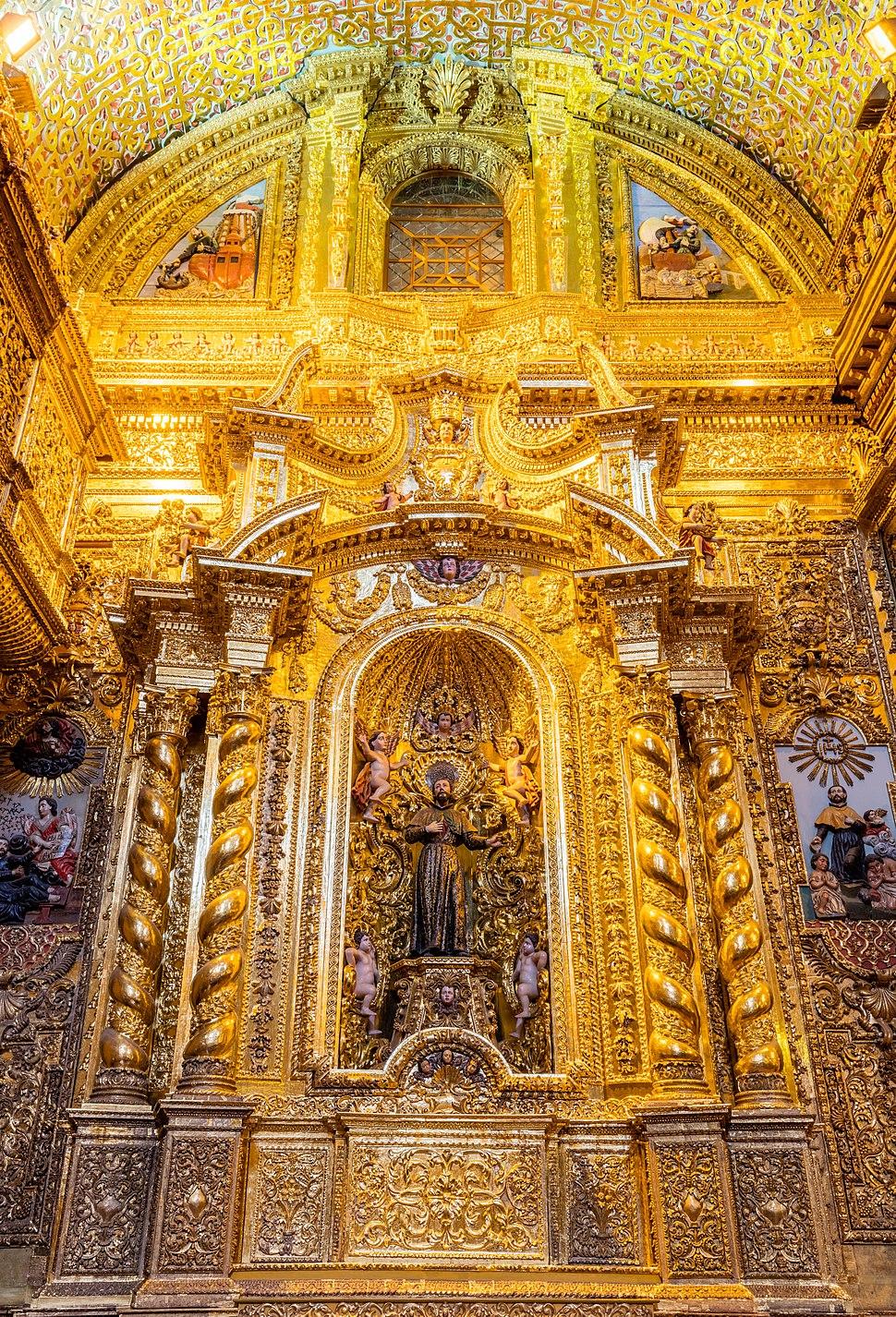 Iglesia de La Compañía, Quito, Ecuador, 2015-07-22, DD 134-136 HDR