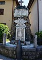 Illegio, War memorial II., Tolmezzo (UD), Italy.jpg