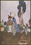 Illustration by Edmund Dulac from One Thousand and One Nights 10.jpg