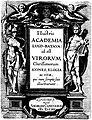 Illustris Academia Lugd-Batava id est Virorum Clarissimorum Icones, Elogia ac vitae - Andream Cloucquium 1613.jpg