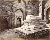 Iltutmish Tomb Delhi in 1860.jpg