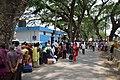 Immigration Check Queue - Jessore Road - Petrapole - North 24 Parganas 2015-05-29 1326.JPG