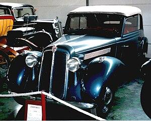 Imperia Automobiles - Imperia TA-9 BS 1938