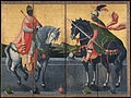 Important Cultural Property Western Kings on Horseback - Google Art Project.jpg