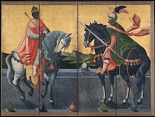 Western Kings on Horseback