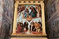 Incoronazione di Maria e i Ss. Nicola da Bari, Agostino, Gimignano, Niccolò da Tolentino e Girolamo di Piero Pollaiolo, 1483.jpg