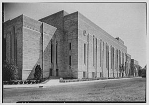Eggers & Higgins - Indiana University Auditorium in 1942