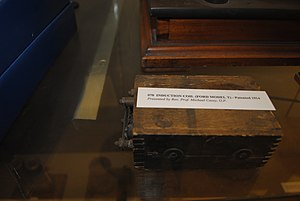 National Science Museum at Maynooth - Image: Induction Coil from Ford Model T
