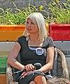 Informations arrangement med Selina Juul, Folkemødet 2015 (cropped to Selina Juul).jpg