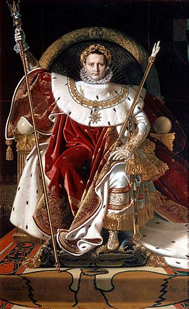 Ingres, Napoleon on his Imperial throne crop.jpg