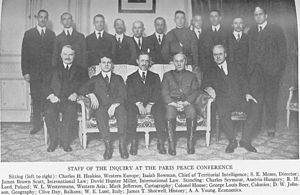 William Linn Westermann - Westermann (standing in back row, third from left) with some members of The Inquiry