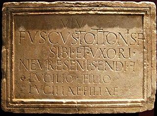 Inscription funéraire (Ra 385)