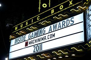 Machinima, Inc. - 2011 Inside Gaming Awards presented by Machinima