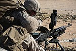 Integrated Task Force Machine Gunners conduct offensive operations during MCOTEA assessment 150330-M-ZM882-065.jpg