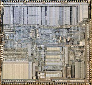 Intel 80386 - Intel A80386DX-20 CPU Die Image