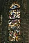 interieur passiekapel, overzicht glas in loodraam - lith - 20334131 - rce