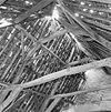 interieur zolder hoofdhuis, de kap boven de voorzolder - brielle - 20043153 - rce