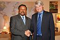 International Development Secretary Andrew Mitchell meets with Jean Ping, Chair of the African Union.jpg